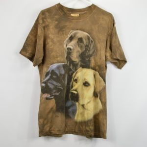The Mountain Mens Labrador Retriever T Shirt